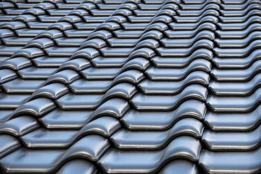 gray italian styled roof